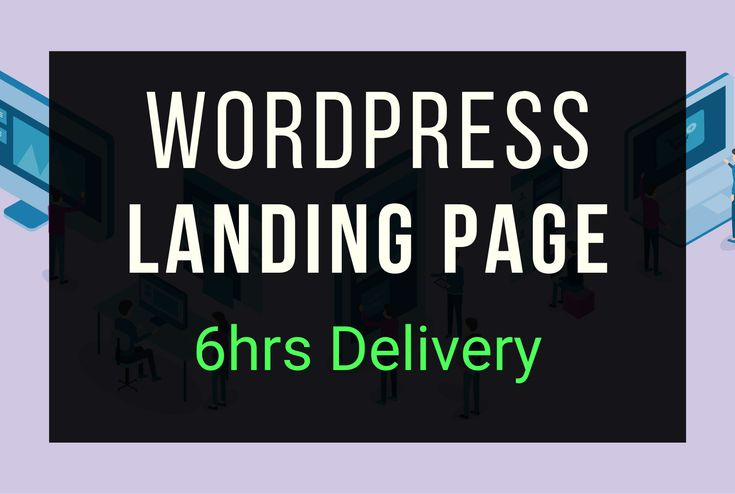 http//bit.ly/wordpress_landing_page_design Wordpress