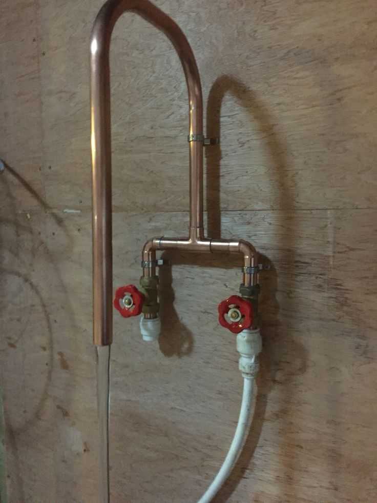 New prototype kitchen tap. Request by customer.