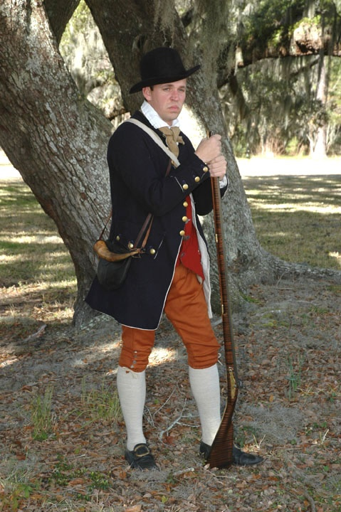 James Burns In A Great Marion 39 S Militia Kit From The American Revolution Living History