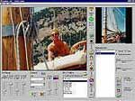 Rostrum Camera Software. Create streaming video from still images using a joystick as motion control device. André Balzer (idc-Balzer) 1994
