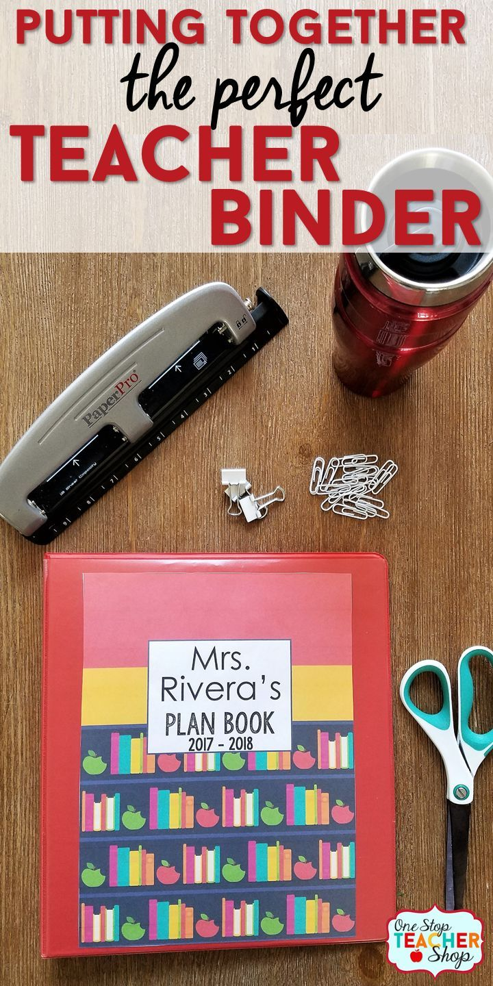 My teacher binder helps me stay organized all year. Here are some of my favorite tips and ideas for putting together the best teacher binder. See my lesson plan templates, teacher binder covers, and more! (I can't live without number 5) Teacher Planner | Plan Book | Classroom Organization | Teacher Binder Covers