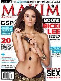 ricki-lee Maxim cover