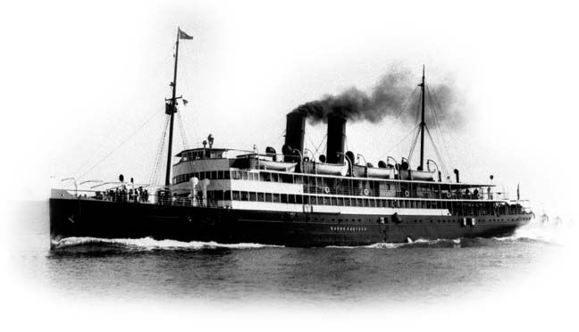 Baron Gautsch – On 13 August 1914 the Austro-Hungarian passenger steamship accidentally struck an Austro-Hungarian mine and quickly sank off Rovigno, Istria. The most reported figures are 177 people lost and 159 saved, but other sources state 120–160 lost and 190 saved out of 310–350 people (245–285 passengers and 65 crew) plus children, who were not registered, or more than 200 victims. She was carrying both civilians and Austro-Hungarian troops.