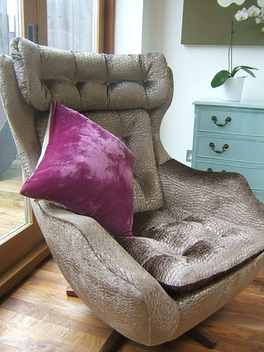Retro Parker Knoll Egg Chair Vintage Lounger Sillas Y