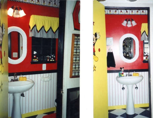 24 best mickey mouse bathroom images on pinterest | mickey mouse