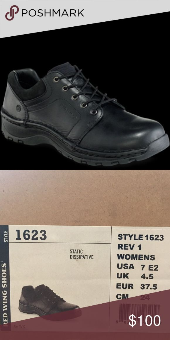 Red Wing Shoes: Women's Used lightly: Black Star Leather More Information: CONSTRUCTION Opanka More Information: INSOLE Forager - Black                                               Made in Vietnam                                             CARE PRODUCTS: Leather Protector,Shoe Cream  SHANK: Non-metallic  NON-MARKING: No  DEFINED HEEL: No Red wing shoes Shoes Lace Up Boots