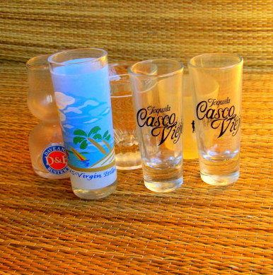 funny shot glasses cute shot glasses shot glasses by BirdRockArts