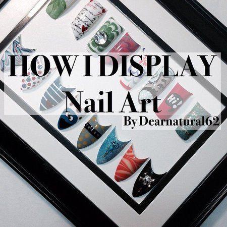 Cool Nail Art Display Idea #nailart - bellashoot.com & bellashoot iPhone & iPad app