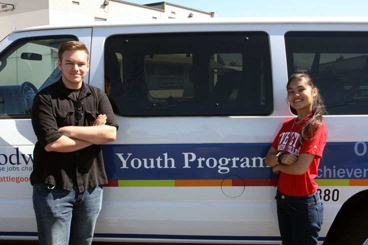 Key Bank donation helps YAP students chart path to life success #Goodwill #Seattle #JobsChangeLives #YouthAerospace #EVCC