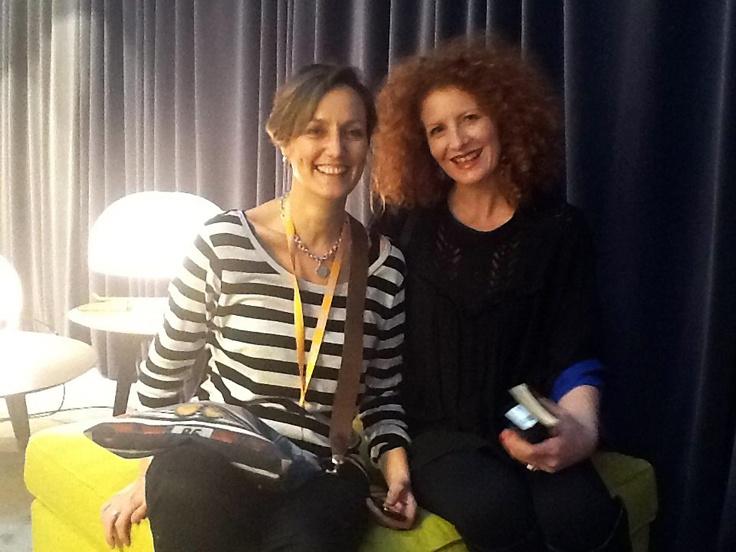 Carolina and Francesca of GraziaCasa magazine