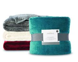 Any Size Threshold™ Fuzzy Blanket from Target Canada $20.00 (50% Off) -
