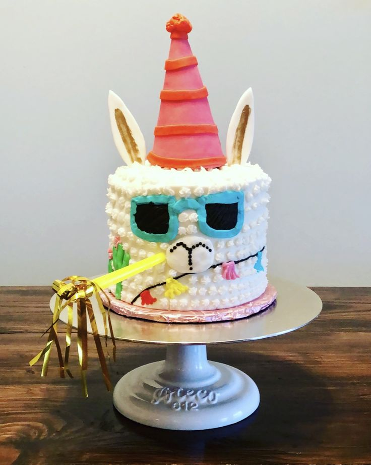 Llama Cake Cakes By Me In 2019 Pinterest Cupcake