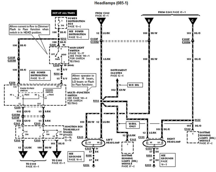 2001 Ford F350 Wiring Schematic. . Wiring Diagrams Instructions