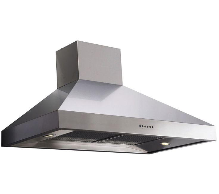 Stainless steel cooker hood upper chimney mira excel ev best price