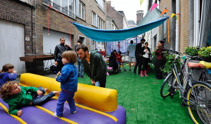 In Ghent, Belgium, 16 residential streets were transformed into collective car-free spaces in 3 months ^AH