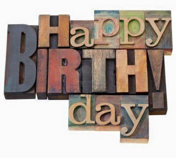 443 Best Happy Birthday Clip Art Images On Pinterest