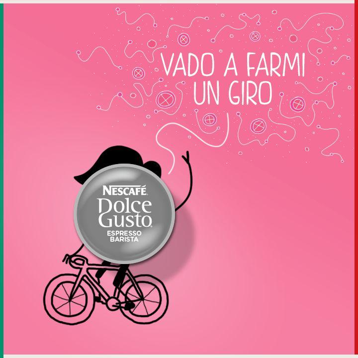 Giro in bici con Espresso Barista (Pic by Nescafè Dolce Gusto)