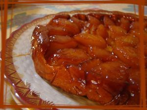 Tarte tatin express by Cyril Lignac