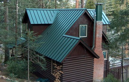 Standing Seam Metal Roof Wyoming House House Roof
