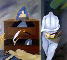 pintura de Rodolfo Opazo