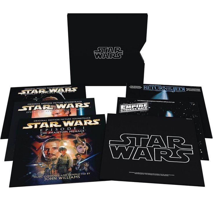 Star Wars : les bandes originales en vinyles #starwars #music