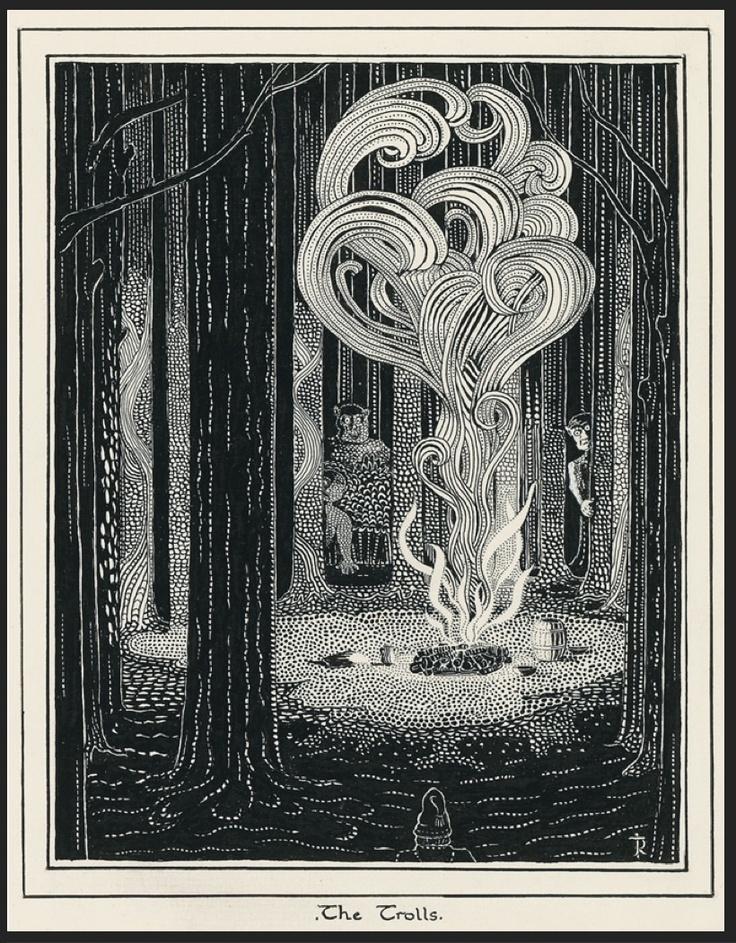 The Hobbit by Tolkien / Trolls