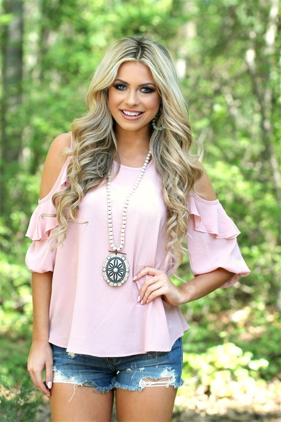 Our Wildwood Flower Top is a must have! #southernfriedchics
