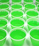 Nuclear Goo (jello cups)