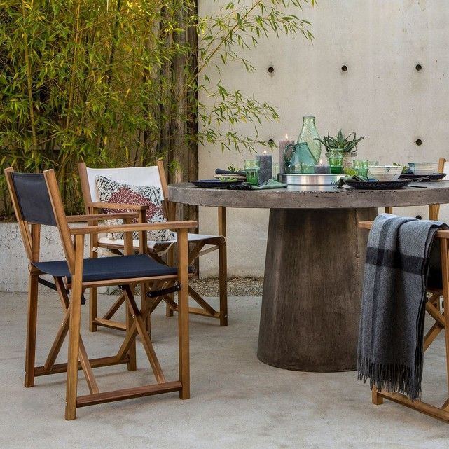 Les 25 meilleures id es de la cat gorie table jardin for Table exterieur tresse