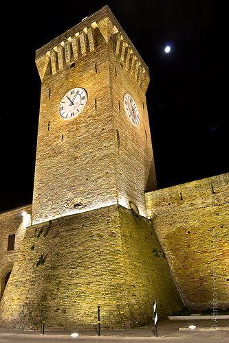 Porto Recanati by Night