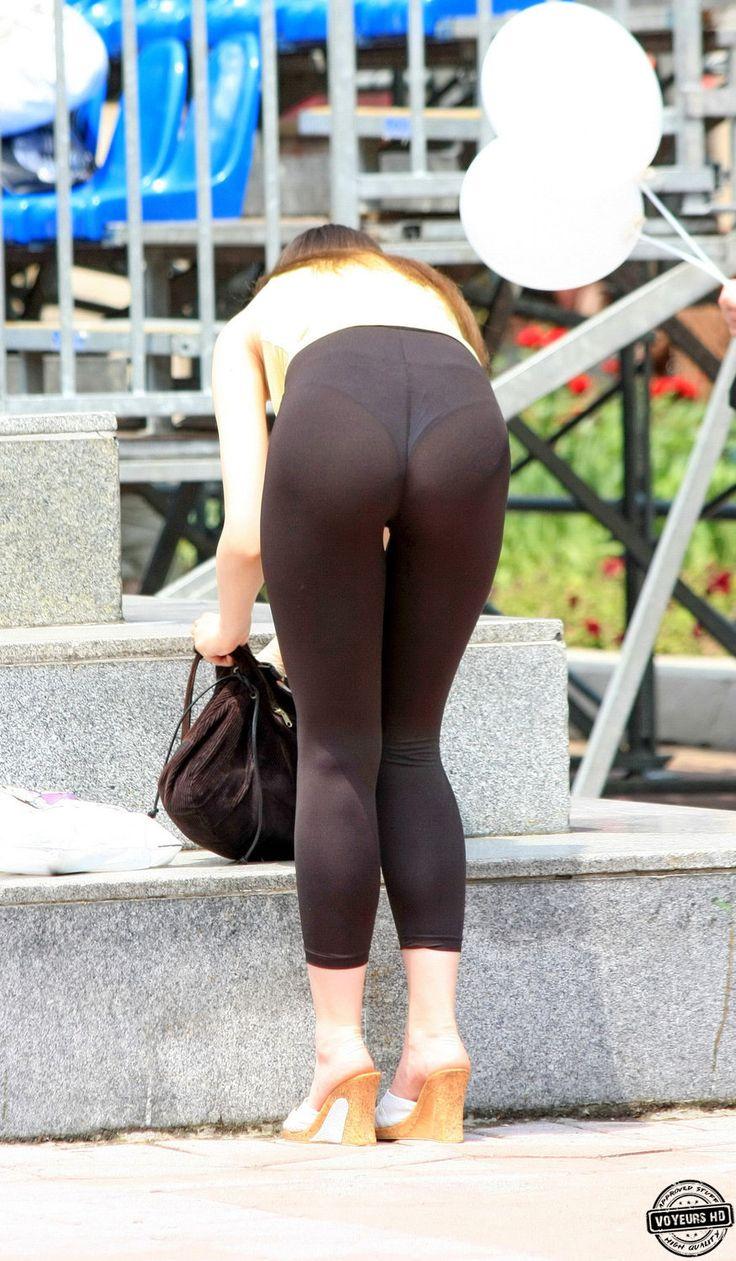 Black Legging Vpl Later Yoga Pants Candid Girls Pants-6371