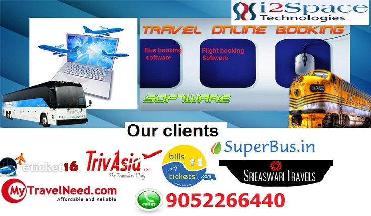 Travel Portal Development - i2space is a leading travel portal Development & consulting company, develops online travel booking engine for the domestic and global clients at very affordable prices. For more details please visit our website   http://www.i2space.com/onlinetravelportal.html