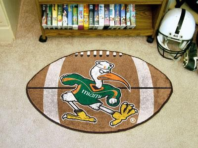 University of Miami Football Rug