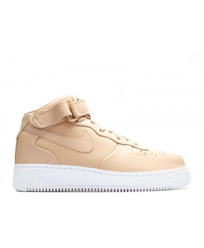 Nikelab Air Force 1 Mid Vachetta Tan Vachetta Tan, Vanchetta Tan 819677-200