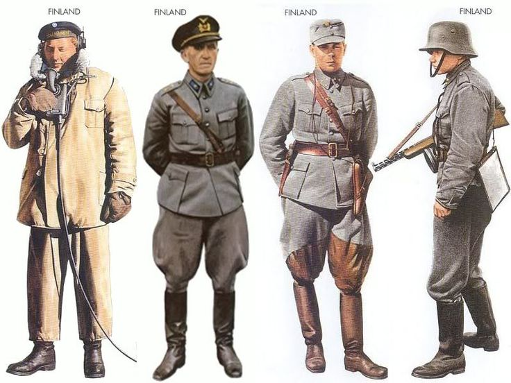 World War II Uniforms - Finland