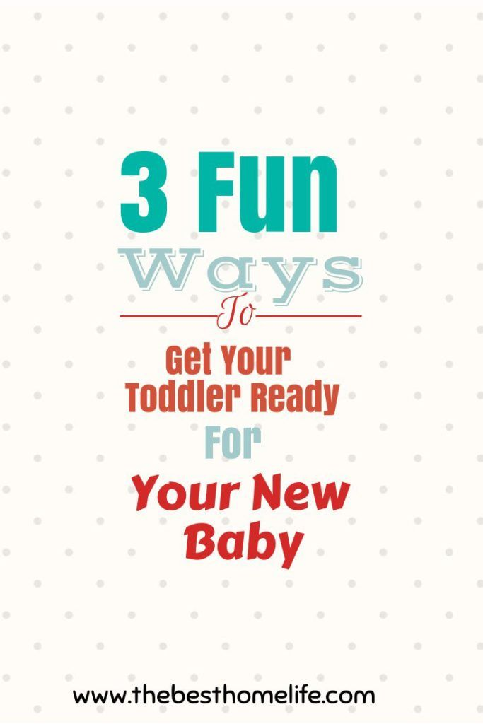 A couple fun things to do to get your toddler ready for that new little one coming into your life.