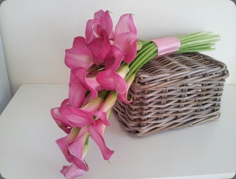 Lovely oink calla bouquet -   pollen designs floristbourne.co.uk