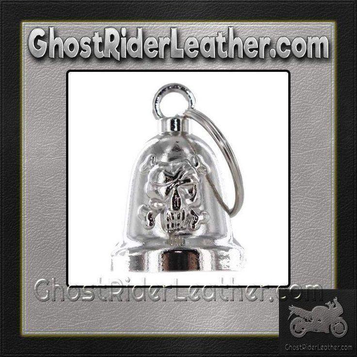 Skull and Crossbones - Motorcycle Ride Bell - SKU GRL-BLC25-DL