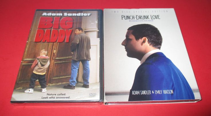 BIG DADDY + PUNCH DRUNK LOVE (2 -DVD LOT) ADAM SANDLER- COMEDY NEW & USED #bigdaddy #punchdrunklove #adamsandler #comedy #darkcomedy #movies http://stores.ebay.com/vinylrockretro/