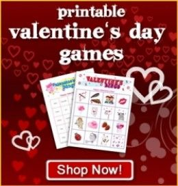 Try these Valentine's Day printable games on February 14 for even more fun than you could ever have imagined.