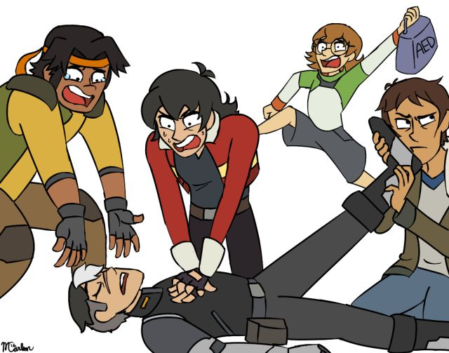 Season 2 here we come - oh, man, I'm torn between laughing and feeling awful for laughing but - Lance is Scuttle. Look at him. LOOK. :D :D :D LOL