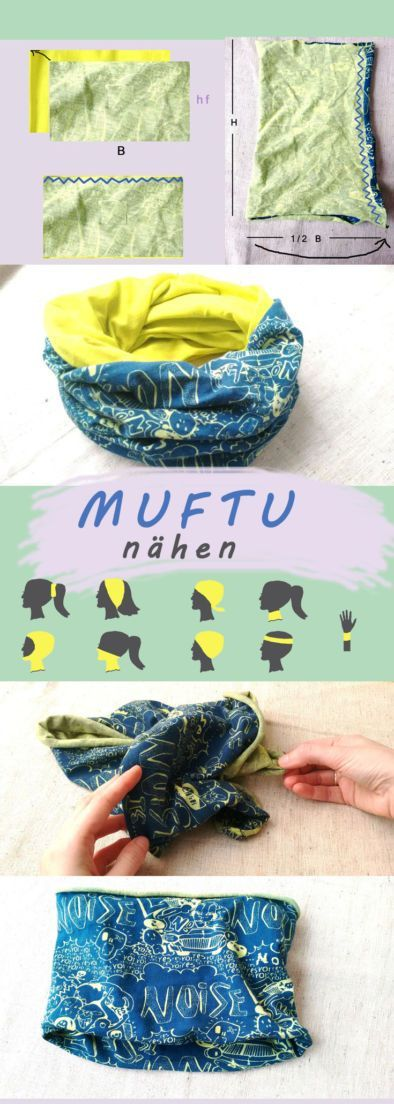 Sewing multifunctional cloth: 5 types