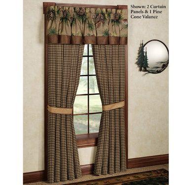 Crestwood Rustic Window Treatment