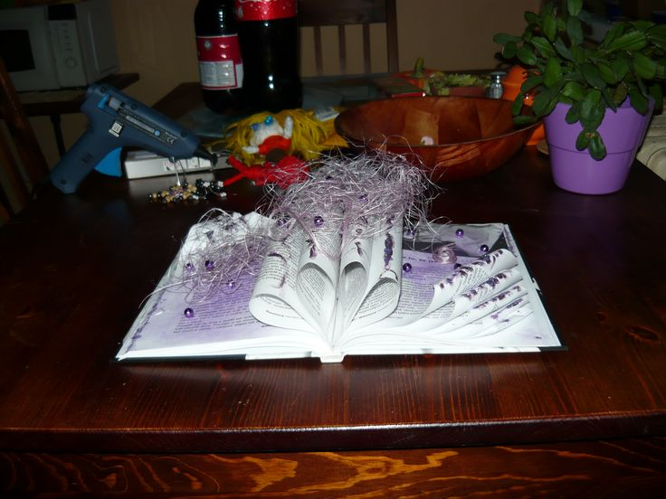 dekorační kniha - decorative book