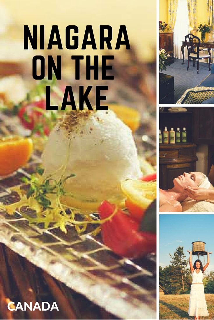 A getaway at Niagara on the Lake is a luxurious experience. Here's what to do on a girl's getaway in Ontario Canada.
