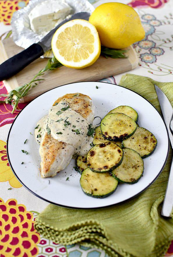 Creamy Chicken and Herb Skillet