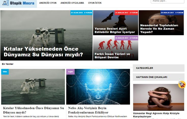 https://www.utopikmecra.com Felsefe, bilim, teknoloji