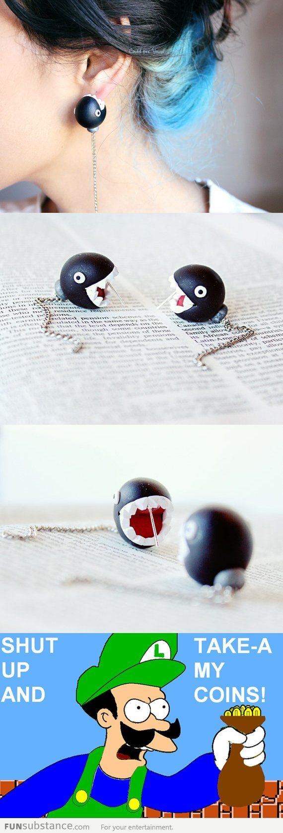 Super cool earrings...i will have these!
