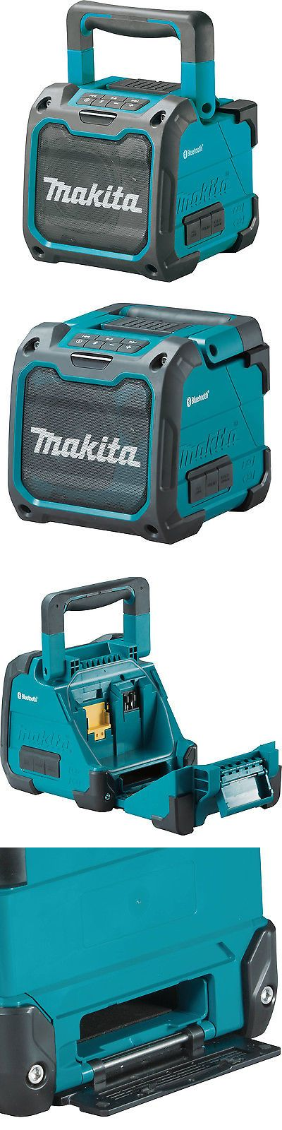 Portable AM FM Radios: Makita Cordless Bluetooth Job Site Speaker (Battery Not Included)   Xrm07 BUY IT NOW ONLY: $94.99