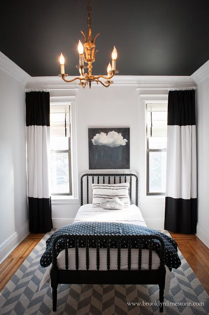 17 Best Ideas About Black White Curtains On Pinterest Black Curtains Bedroom Stripe Curtains